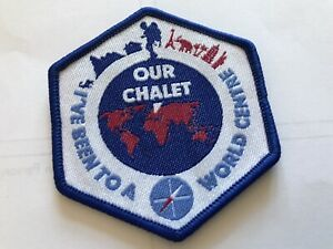 Girlguiding SWE I've Been To A World Centre Our Chalet Badge