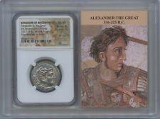 336-323 BC Kingdom Macedon Alexander Tetradrachm NGC CHXF Lifetime Story Vault