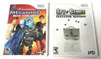Wii MegaMind Mega Team Unite   Wii Spy Games Elevator Mission