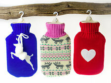 Hot Water Bottle Knitted Cover