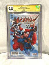Action Comics #39 Cgc 9.8 Signed By Aaron Kuder, Greg Pak, Will Quintana Variant