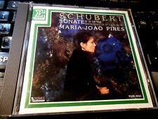 Schubert : Sonata no. 21 (11) Impromptus No 3 & 4 CD Maria-Joao Pires JAPANESE I