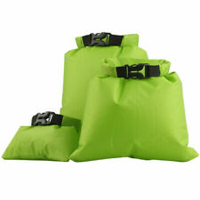 3 Pack Camping Dry Sacks Waterproof Weather Resistant Kayak Hiking Bag 2/4/8L UK