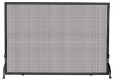 Uniflame S-1154, Large Single Panel, Olde World Iron Finish, Fireplace Screen