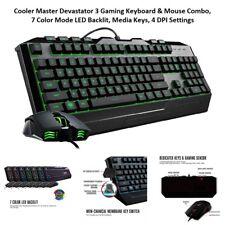Cooler Master Devastator 3 Gaming Keyboard & Mouse Combo, 7 Color Mode LED...