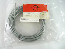 Dia Compe Brake Cable Housing Roll 25Ft. Clear silver Vintage Bmx Bicycle Nos