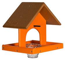 ORIOLE BIRD FEEDER with Tray, Jelly Jar- Custom Poly Colors USA