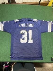 Dallas Cowboys R Williams #31 Reebok Jersey SZ L
