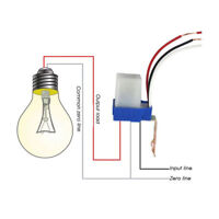 AC DC 110V 10A Auto On Off Photocell Street Light Sensor Switch Photoswitc