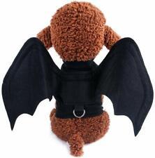 Pet Dot Bats Halloween Costume For Cat Small Medium Dog Puppy Black Bat Wings