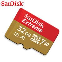 SanDisk 32GB Extreme MicroSD SDHC Tarjeta de Memoria UHS-I U3 V30 4K UHD Video