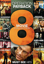 Operation Payback: 8 Movie Collection (DVD, 2013, 2-Disc Set)