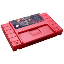 for SFC/SNES Super Game Card Snes Game Card 100 in One Red Shell Snes CartridgA5