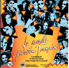 LA NOUVELLE GENERATION FRANCAISE  CD PROMO RARE FELDMAN VANESSA PARADIS GOLDMAN