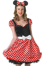 Disney Sassy Minnie Mouse Womens Ladies Costume Adult Small Ears Rubies
