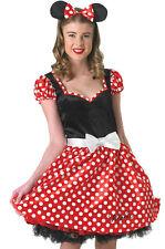 Disney Sassy Minnie Mouse Womens Ladies Costume Adult Small Ears Rubies
