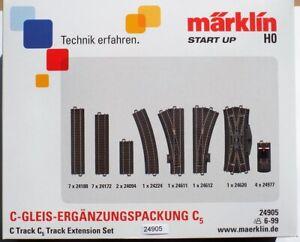 Märklin  24905 H0 Ergänzungspack   C-Gleis-Set C5 #NEU in Originalverpackung#
