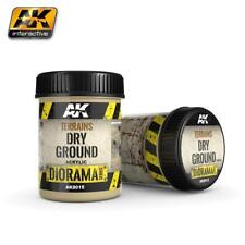 AK TEXTURE PRODUCTS TERRAINS DRY GROUND - 250ml (Acrylic)