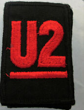 U2 BONO COLLECTABLE RARE VINTAGE PATCH EMBROIDED 90'S METAL LIVE