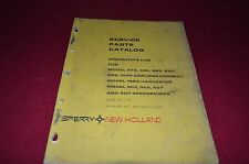 New Holland Cab For 975 980 985 990 995 Combine Dealer's Parts Book Manual Bwpa