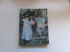 SARGENT BY JOHN SINGER  ART BOOK PAINTING ARTIST