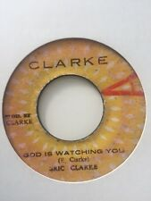"Eric Clarke - God is Watching You / Version 7"" Vinyl 1978"