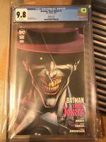 BATMAN: THREE JOKERS #3 CGC 9.8 Graded Guaranteed IN HAND Cover D KILLING JOKE