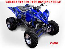 Invision décor Graphic Kit ATV yamaha yfz 450 04-14,yfz 450r Camo, Décalques B