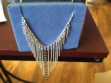 New Silver Plated Avon Choker Necklace