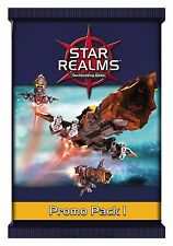 Promo Pack 1 Star Realms 15 New Art Card Booster Set White Wizard Games WWG 019