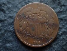 1866,   2 cents,   U.S.A.,   Free shipping  in Canada