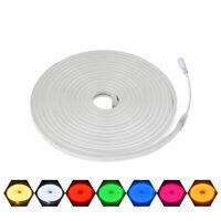 Waterproof IP67 DC 12V Flexible LED Strip Neon Rope Light 2835 SMD 120LEDs/M DIY