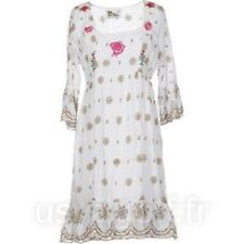 Robe femme Hippie Bohême Baba Cool Peace and Love by Calaco Taille 42 NEUVE