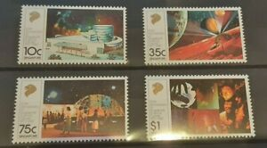 Singapore 1987 - Science Centre set of 4 MNH stamps SG564 - 567