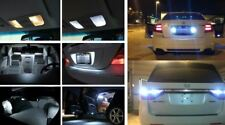 Fits 2009-2014 Honda Fit Reverse White Interior LED Lights Package Kit 11pc