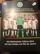 """13 Silber Münzen Sammlung """"Fußball WM 2014"""" / WERTANLAGE - JETZT ZUGREIFEN"""