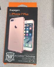 Spigen [Ultra Hybrid] (Rose Crystal) Clear back Fits iPhone 7 Plus IPhone 8 Plus