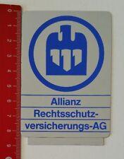 Aufkleber/Sticker: Allianz Rechtsschutzversicherungs-AG (08051713)