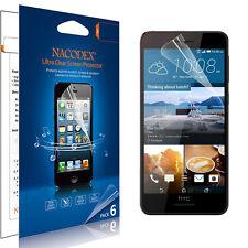 6X Nacodex HD Clear Screen Protector Saver Shield Film For HTC Desire 728