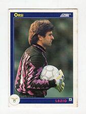 figurina card - CALCIATORI CARD SCORE 1993  - numero  193 LAZIO ORSI