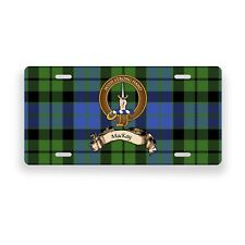 MacKay Scottish Clan Novelty Auto Plate Tag Family Name License Plate