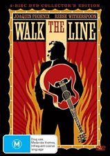 Walk The Line (DVD, 2007, 2-Disc Set) LIKE Region 4 Free Postage