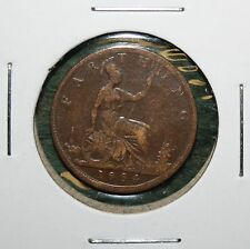 1884 GREAT BRITAIN FARTHING - UK COIN - HIGH GRADE