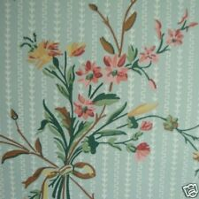12sr Blue Floral Waterhouse Historic Archival Antebellum Victorian Wallpaper