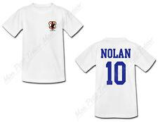 T-shirt Enfant Football Maillot Japon personnalisé avec prénom et numéro au dos