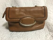 OROTON - Tan Leather Pouchette - Shoulder Bag