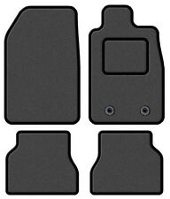 VAUXHALL ASTRA 2010 ONWARDS TAILORED GREY CAR MATS WITH BLACK TRIM