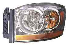 New 2006 Dodge RAM 1500 / 2500 / 3500 left driver headlight head light
