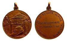 Medaglia Incontro Con La Brigata Alpina Taurinense Castellamonte 1963 Bronzo