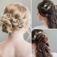3pcs pearl bridal hair pins hair accessories wedding party